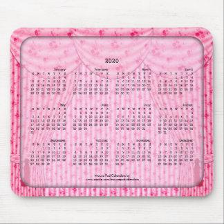 2020 cortinas rosadas lamentables del cojín de tapete de ratón