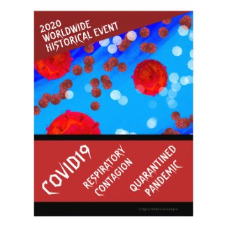 2020 COVID-19 WORLDWIDE HISTORICAL EVENT FLYER