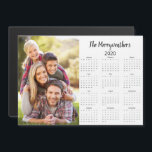 """2020 Customizable Family Name and Photo<br><div class=""""desc"""">2020 Customizable Family Name and Photo Magnetic Calendar featuring your personalized photo and name. Designed for 2020,  and perfect for small gifts,  stocking stuffers,  or in place of holiday cards!</div>"""