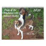 2020 Dogs of the OKC Animal Shelter Calendar