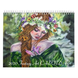 2020 Fantasy Art Calendar Katerina Art