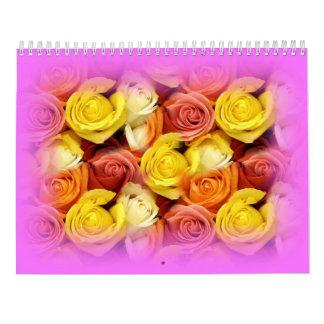 2020 Flower EDITABLE Calendar