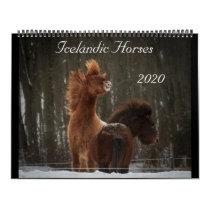 2020 Icelandic Horse Calendar