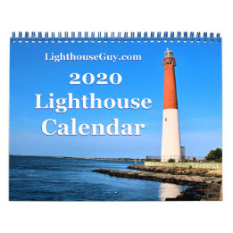 LighthouseGuy.com 2020  Lighthouse Calendar