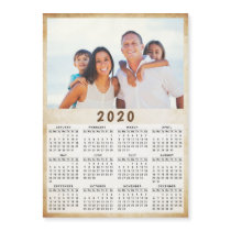 2020 Magnetic Photo Calendar