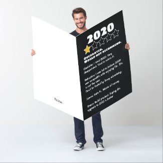 2020 Overrated Personalized Reviews Card