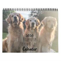 2020 ParkerPup & Friends Golden Retriever Calendar