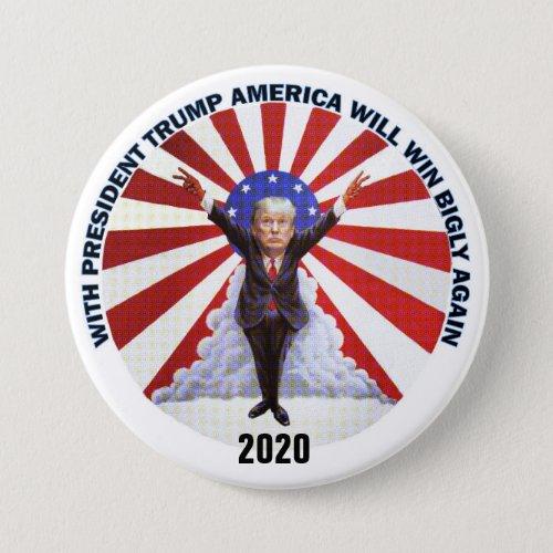 2020 Re_Elect Trump Pinback Button