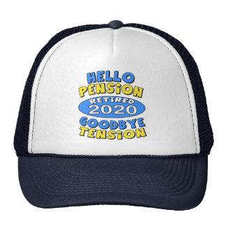 2020 Retirement Trucker Hat