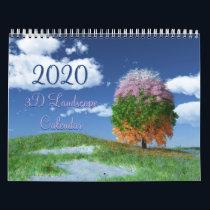 2020 SilverWebForge 3D Landscape Calendar