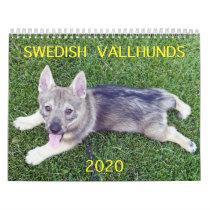 2020 SWEDISH  VALLHUND CALLENDAR CALENDAR