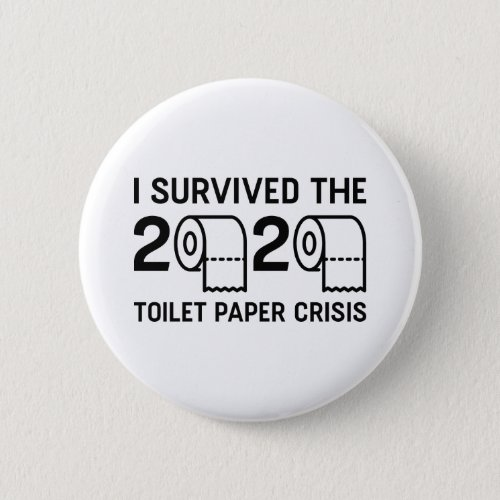 2020 Toilet Paper Crisis Button
