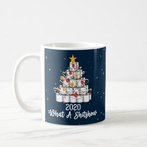 2020 What A Shitshow pandemic Christmas Coffee Mug