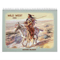 2020  Wild West Calendar