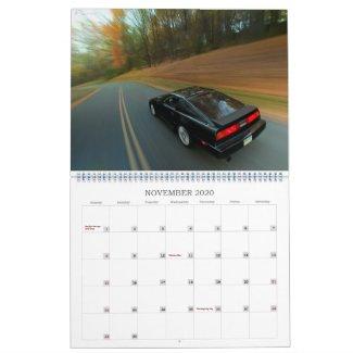 2020 Z31 Calendar