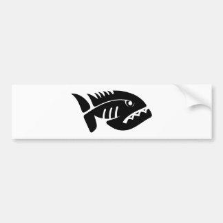 2021112006 Piraña (Animal) Bumper Sticker