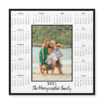 2021 Add Your Photo Magnetic Calendar