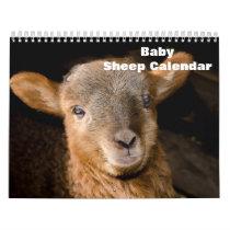 2021 Baby Sheep Lamb Calendar