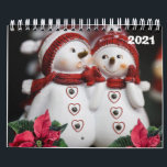 "2021 Calendar Christmas Snowman<br><div class=""desc"">2020 Calendars, Something for everyone offers customized personalized calendars especially designed to express thoughtful moments. This uniquely designed stylish greeting card will bring a smile to your loved ones. You may want to check out the customized birthday gift bags, wrapping paper, tissues paper, birthday mugs, etc. While you are here...</div>"