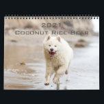 "2021 Coconut Rice Bear Calendar<br><div class=""desc"">The 2021 adventures of Coconut Rice Bear!  Instagram: @coconutricebear</div>"