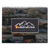 2021 Colorado Cars & Coffee Community Calendar