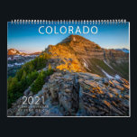 "2021 COLORADO Scenic Calendar<br><div class=""desc"">2021 COLORADO Scenic Calendar - This is a Colorado Scenic Calendar showcasing various places from around the Centennial State. If you like mountains,  fourteeners,  snow,  sunrises,  sunsets,  aspens forests,  fall colors this is the calendar for you!</div>"