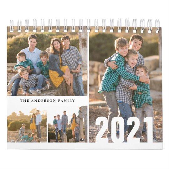 2021 Custom Photo Calendar Simple Create Your Own