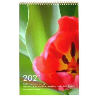 2021 Flowers Close-Up Calendar