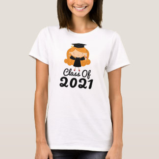 2021 Graduation Gift Idea For Girls T-Shirt
