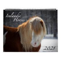 2021 Icelandic Horse Calendar