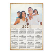2021 Magnetic Photo Calendar