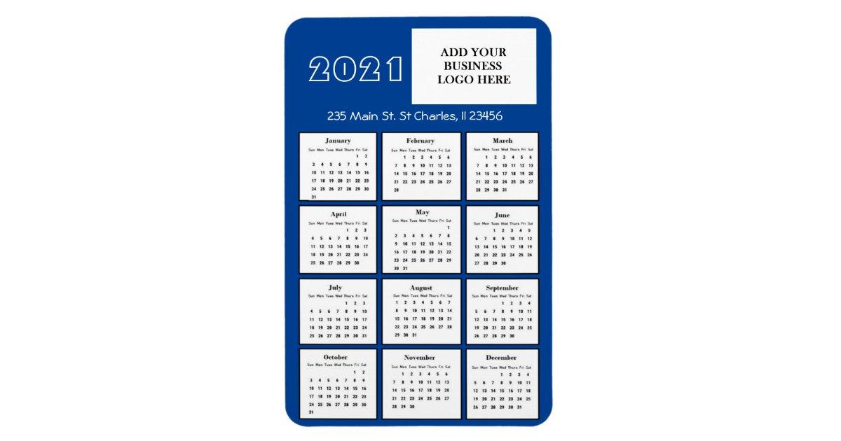 2021 Magnetic Refrigerator Calendar Images