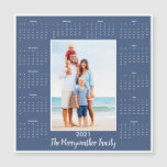 2021 Photo and Name Magnetic Calendar
