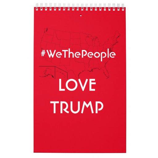 2021 President Trump Calendar