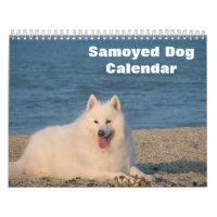 2021 Samoyed Dog Calendar