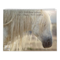 2021 Wild Horse Monthly Calendar