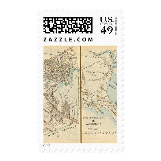 202203 Larchmont, New Rochelle Postage