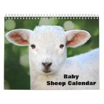 2022 Baby Sheep Lamb Calendar