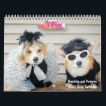 """2022 Bumbles and Dawgins Corgi Calendar<br><div class=""""desc"""">Each month has a different photo of corgis in costumes. This calendar is sure to bring a smile to anyone who sees it. A wonderful gift!</div>"""