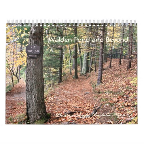 2022 Walden Pond and Beyond with quotes Calendar
