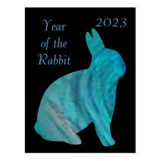 2023 Year of the Rabbit Postcard