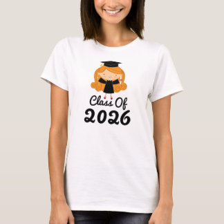 2026 Graduation Gift Idea For Girls T-Shirt