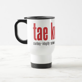 202-1 Tae Kwon Do Tenet Travel Mug