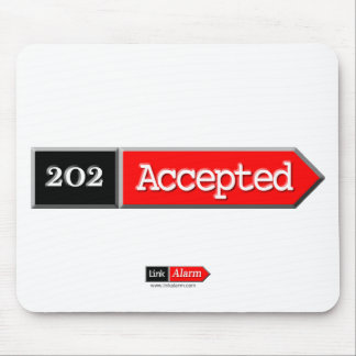 202 - Accepted Mouse Pad