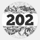 202 ETIQUETAS REDONDAS