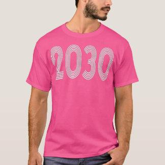 2030 Year Graduation Class Of Photo Shirt Retro