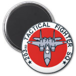 203SQ Tactical Fighter Patch Fridge Magnet
