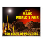2040 Mar's World's Fair Poster