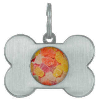 204206 JELLIES CANDY SWEETS TREATS JELLY SUGARED PET TAG