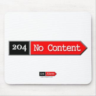 204 - No Content Mousepads